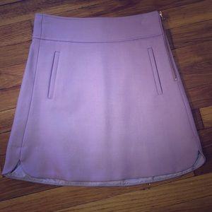 Jcrew light pink wool skirt